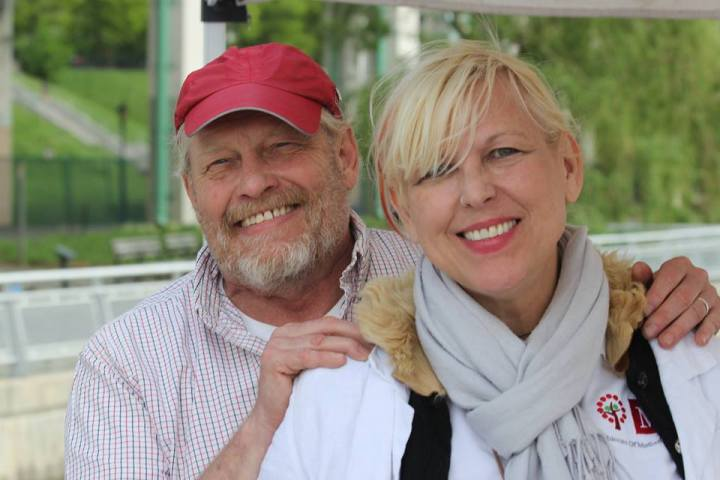 Carl Hovey and Joy Rose